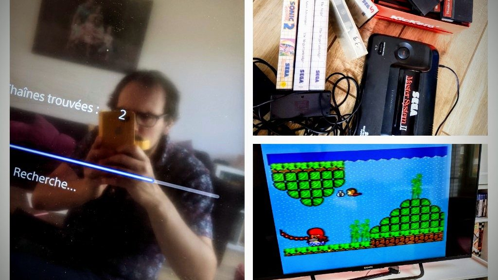 Master System 2, branché rapidement !