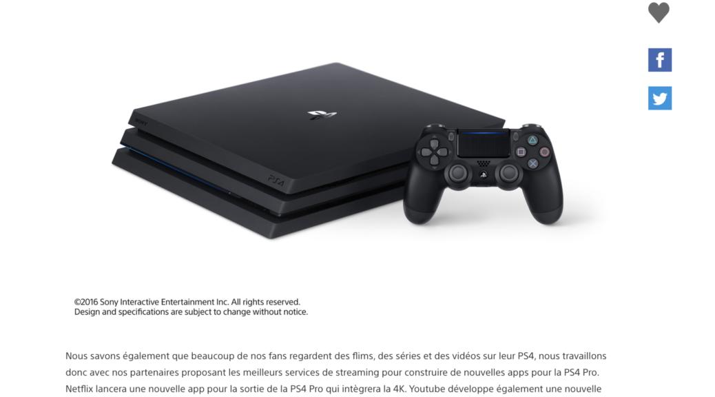 La PS4 Pro et la nouvelle PS4 plus légère et plus fine, révélées au PlayStationMeeting