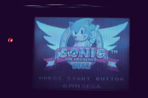 Sonic se balade !