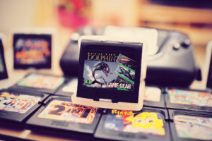 Mes premières cartouches Game Gear : Ecco the Dolphin