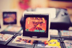 Mes premières cartouches Game Gear : Wonderboy