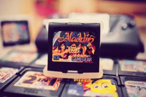 Mes premières cartouches Game Gear : Aladdin