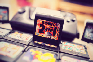 Mes premières cartouches Game Gear : Sonic 2 in 1