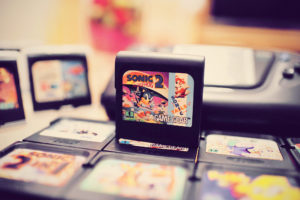 Mes premières cartouches Game Gear : Sonic the Hedgehog 2