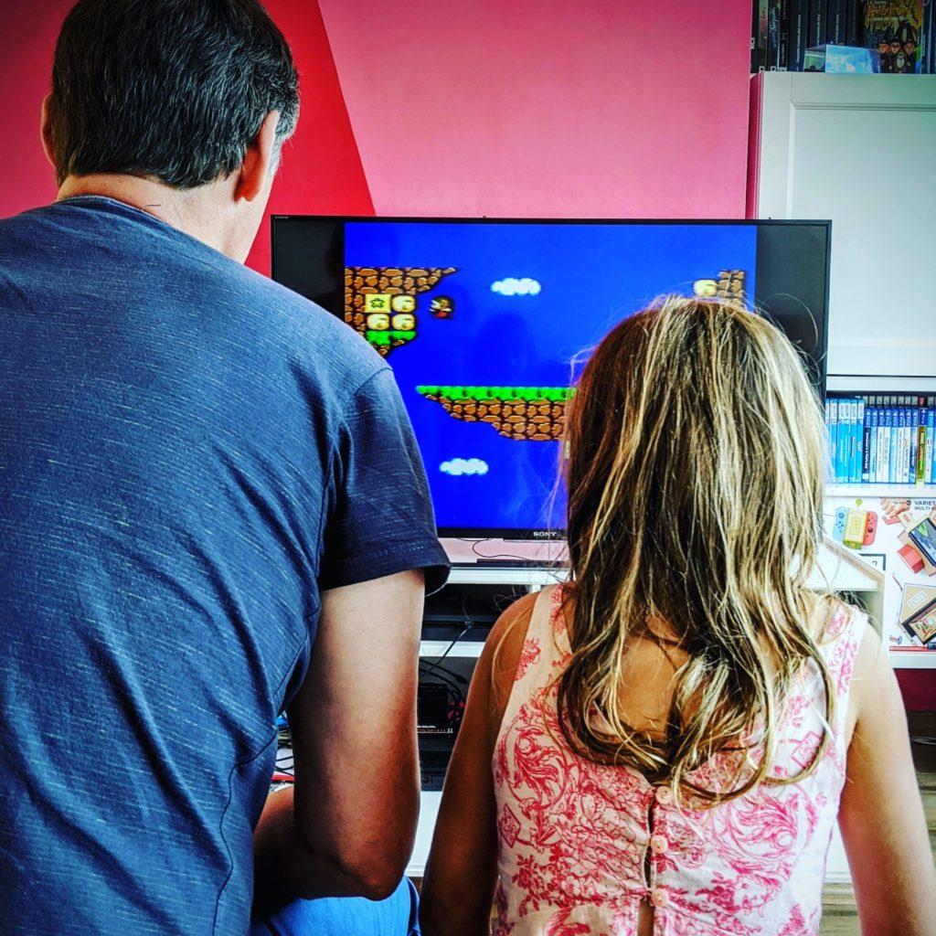 Les jeux vidéo rassemblent les générations