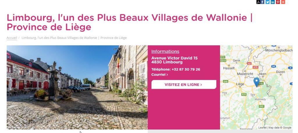 Limbourg, l'un des Plus Beaux Villages de Wallonie | Province de Liège