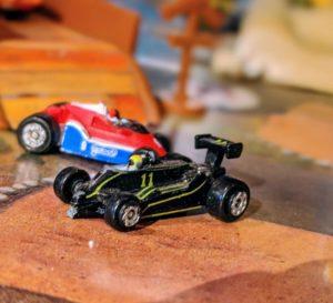 Lotus Renault (broken) - 1988, Formula Racers Collection - Micro Machines
