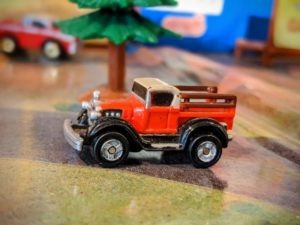Ford Model T Pick Up - Antiques Collection #28 - 1989 Micro Machines