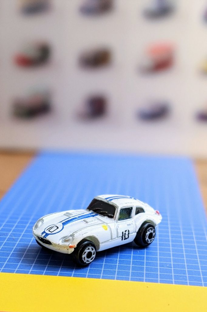 Jaguar e-Type - Best of Europe Collection #54 - Galoob Micro Machines, 1989