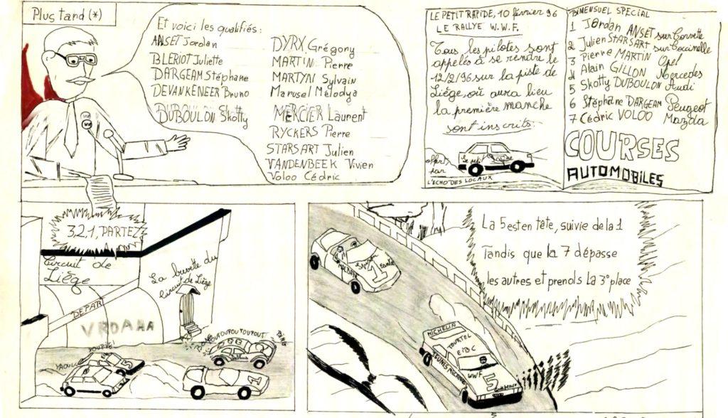 Les Jeunes Mécanos : Le Rallye en Folie - Page 2-1