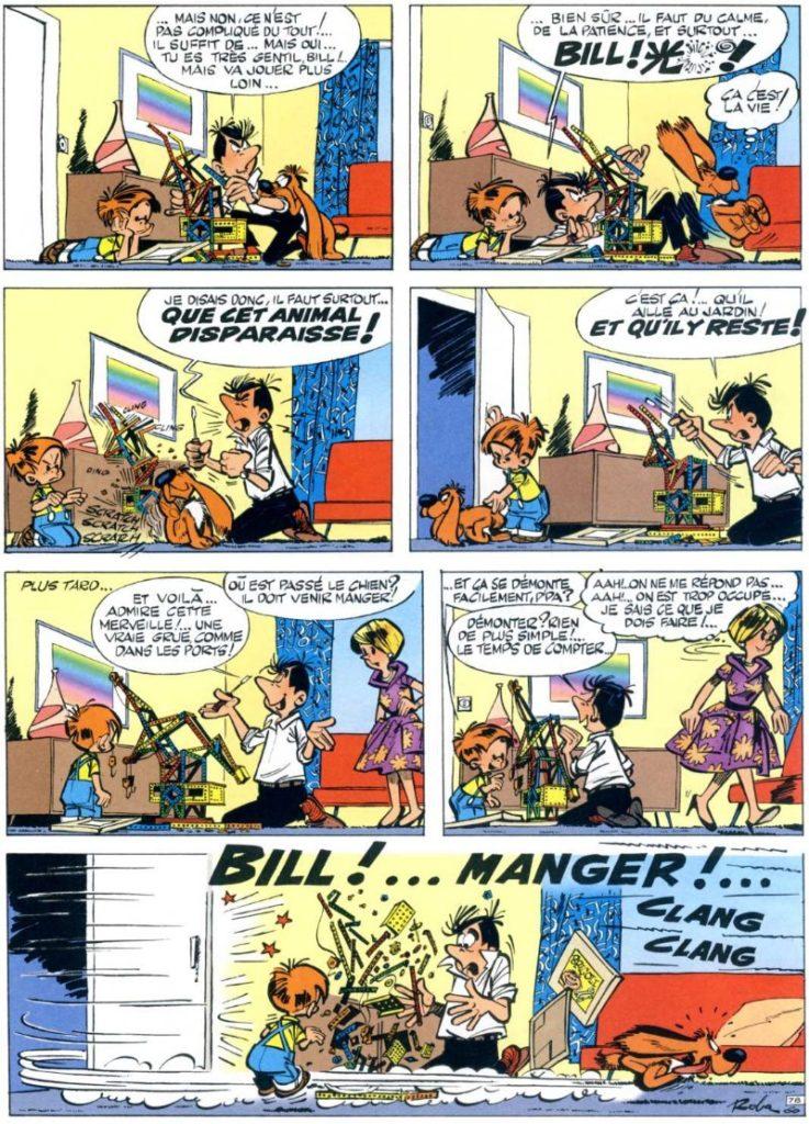Extrait de la Bande Dessinée Boule & Bill
