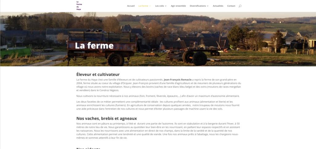 La Ferme du Haya Ensemble vers une agriculture raisonnée au goût du terroir