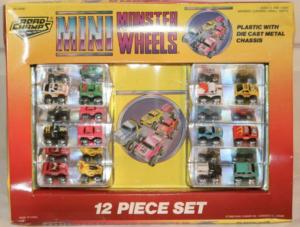La série Minni Monster Wheels de RoadChamps, les clones qui inspireront certains modèles de Micro Machines.