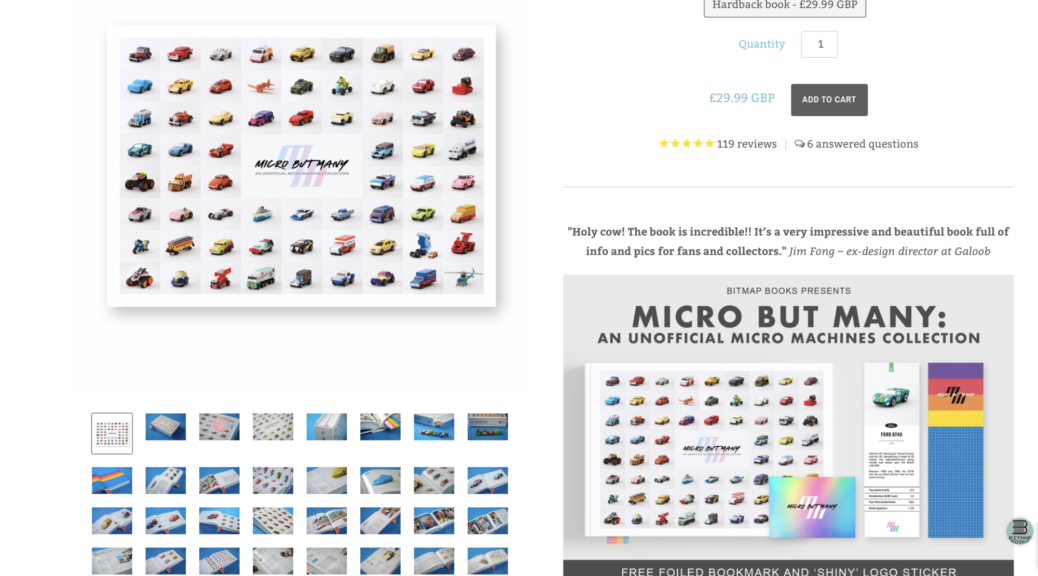 Micro but many, the book about Micro Machines