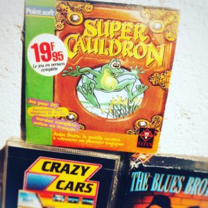 Super Cauldron édition PointSoft sous Windows.