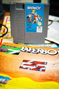 Shooting Retrogaming - NES - Paperboy