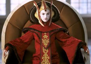 La Reine Padmé Amidala de la planète Naboo