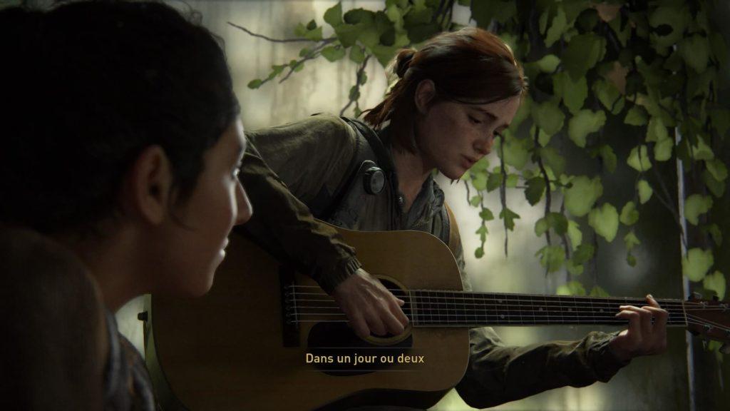 The Last of us Part 2 - un petit air de guitare ?