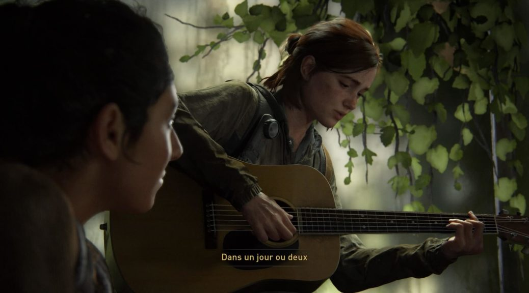 The Last of us Part 2 - un petit air de guitare ?