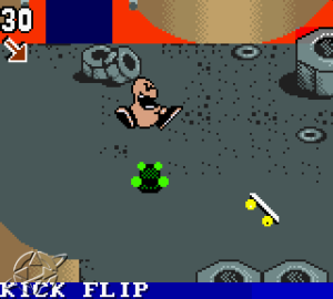 Tech Deck Skateboarding - GBC (Activision - Handled Games, 2001)