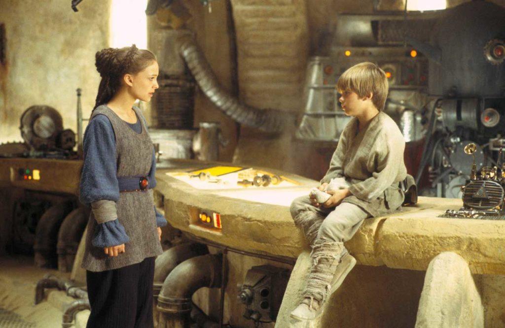 Star Wars Episode I La Menace Fantome Photo Natalie Portman Jake Lloyd 1007372