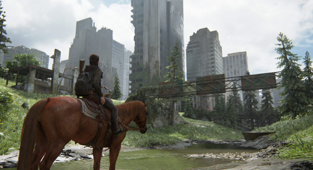 Une balade à cheval dans un Seattle dévasté - The Last of US 2