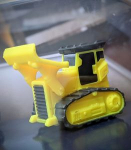 Bulldozer - Constructor #2 - Micro Machines Wicked Cool Toys Hasbro, 2020