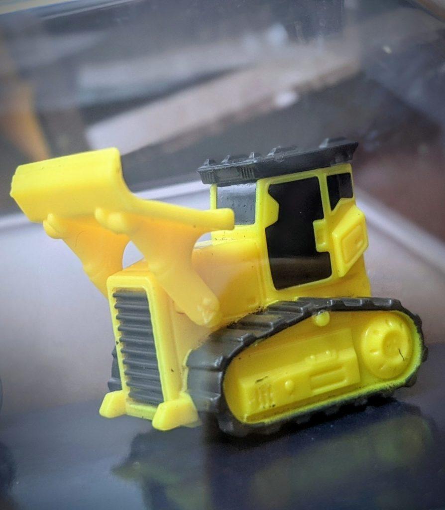 Bulldozer - Constructor #2 - Micro Machines Wicked Cool Toys Hasbro, 2020