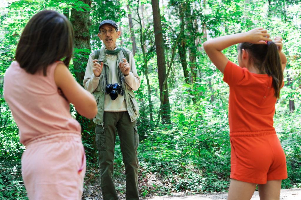 L'anniversaire de Papou en forêt