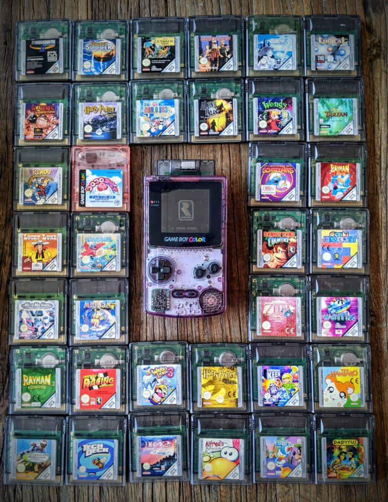 Game Boy Color collection