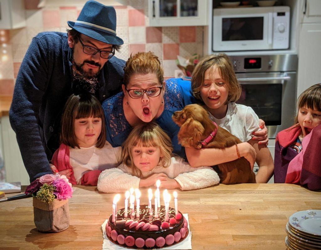 Et un Joyeux anniversaire à ma Snorkys :)