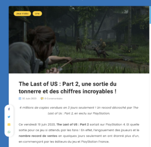 4 millions de copies vendues en 3 jours seulement ! Un record décroché par The Last of Us : Part 2 - BeGames