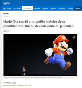 Mario fête ses 35 ans : petite histoire de ce plombier moustachu devenu icône du jeu vidéo