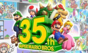 Super Mario fête son 35° anniversaire !