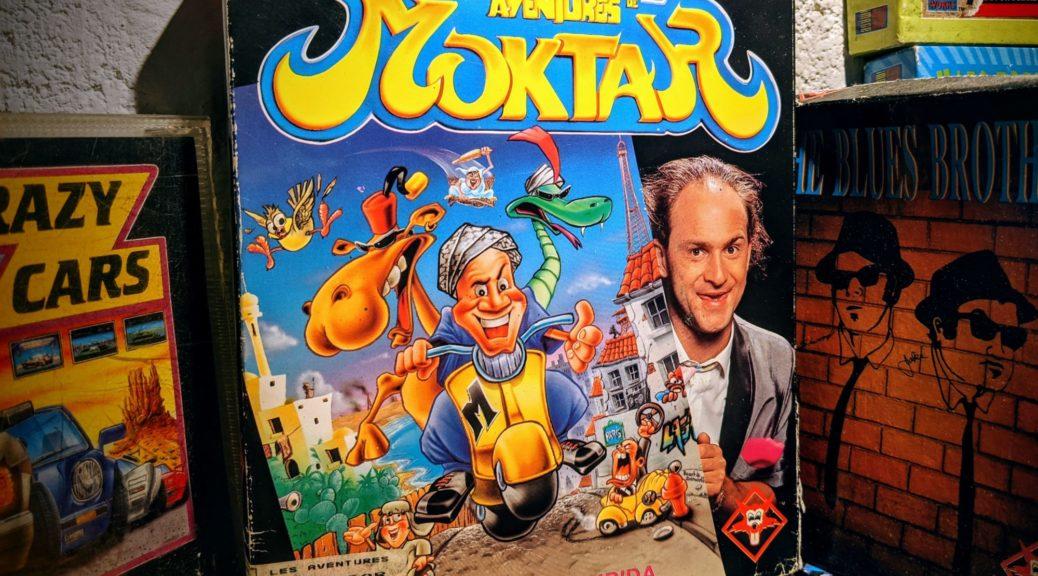 Les aventures de Moktar, l'une des belles pièces de ma collection.