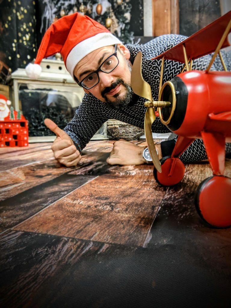 Prêt pour le studio Noël chez Petite Snorkys