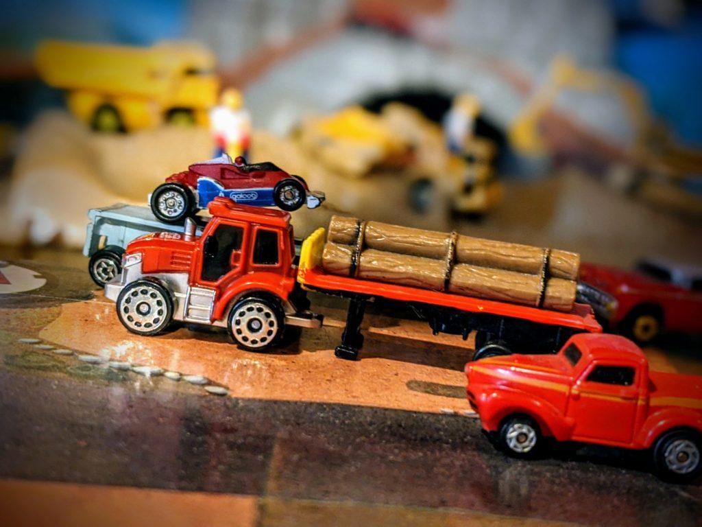Tractor - Farm #1 - Micro Machines Wicked Cool Toys Hasbro, 2020