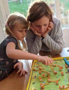 Une petite partie avec ma soeur ! Son jeu a toujours eu un grand succès !