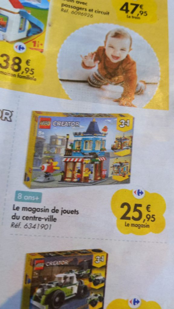 Lego Creator Carrefour