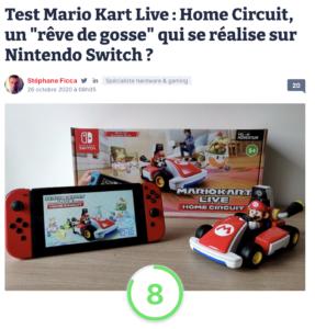 """Test Mario Kart Live : Home Circuit, un """"rêve de gosse"""" qui se réalise sur Nintendo Switch ?"""