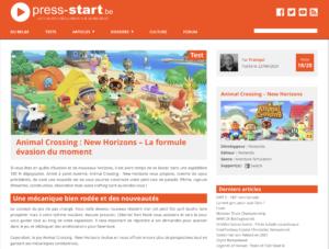 Animal Crossing : New Horizons – La formule évasion du moment
