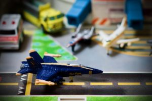 F-18 Hornet - Blue Angel - Micro Machines