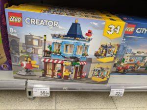 Une jolie boite LEGO Creator