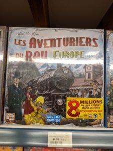 Les Aventuriers du Rail - Europe est parait il un grand classique !