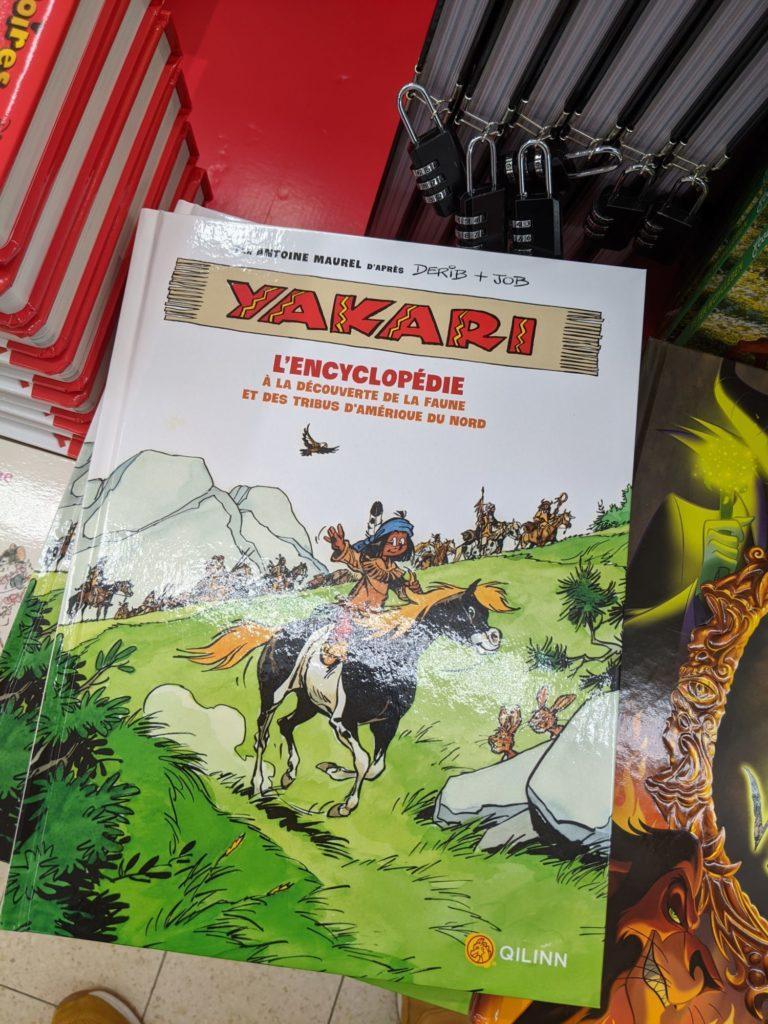 Les BDs Yakari, le n° 3 entre autre.
