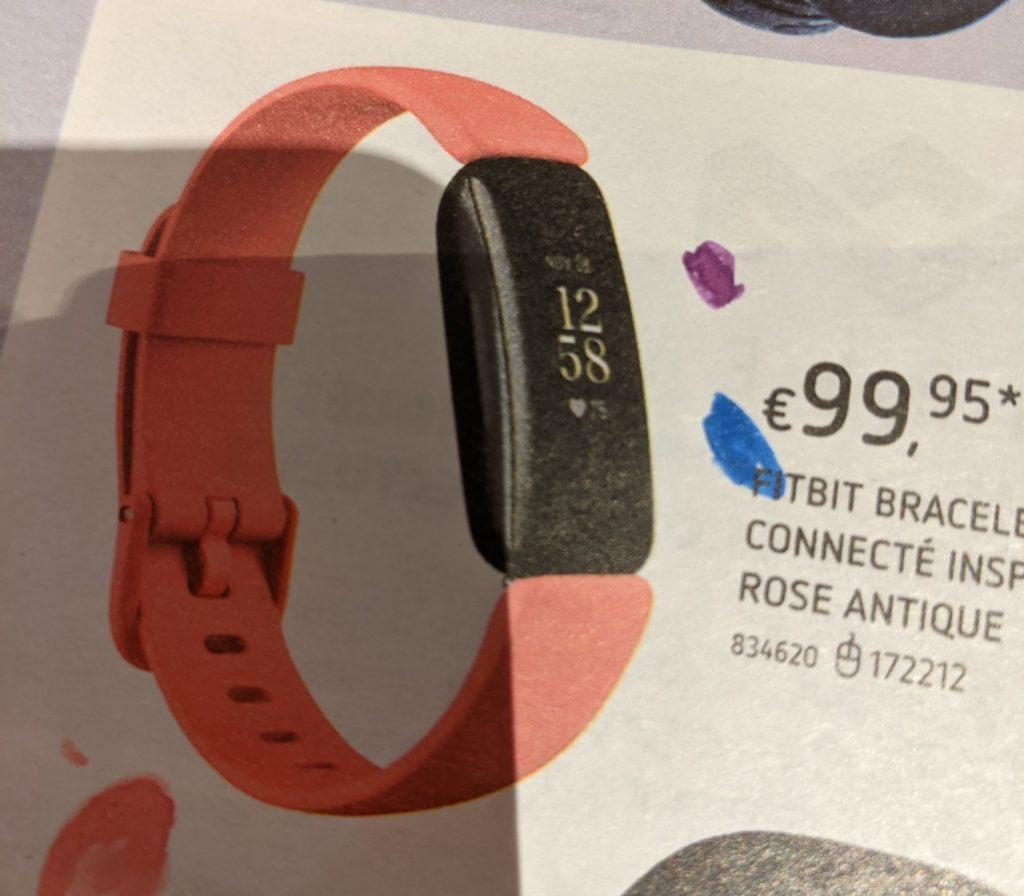 La Fitbit, plus cher que la Xiami Band
