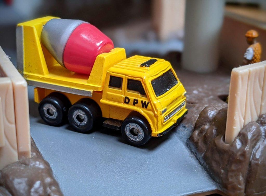 Betonière - Construction Truck #5048 - Micro Champs Funrise, 1989