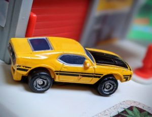 Ford Mustang '71 - Mustang #7 - Micro Machines, 1998