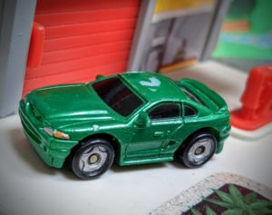 '90s Ford Mustang -Speedeez, Playmate Toys Inc, 2002