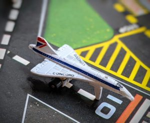 Concorde - The Aircraft III #13 - Micro Machines - Galoob, 1988